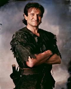 Robin Williams as Peter Pan in Hook