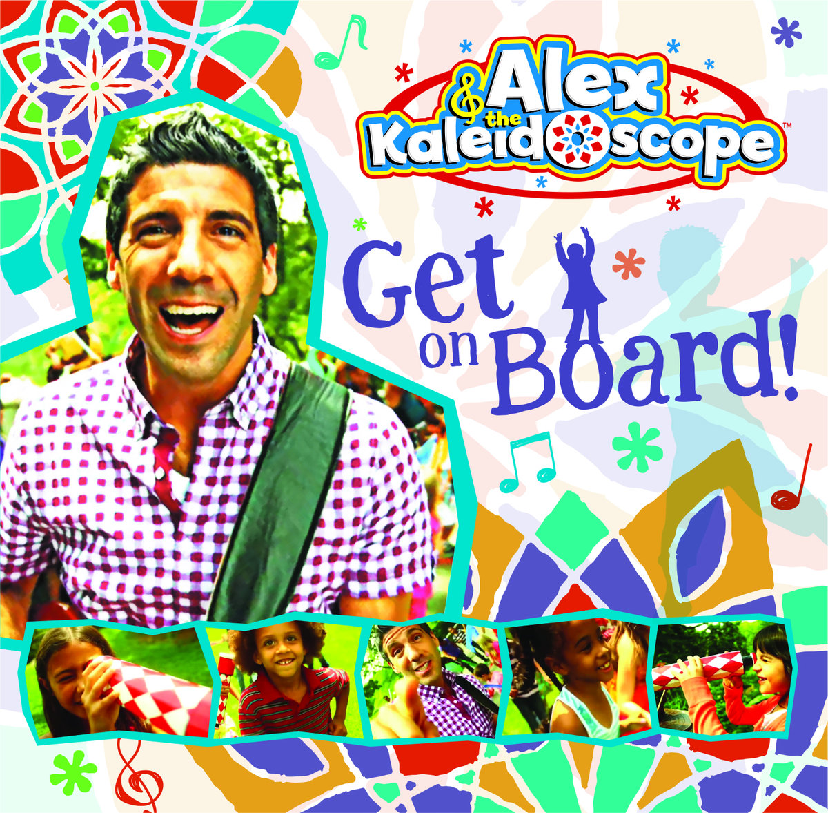 Alex and the Kaleidoscope Get on Board