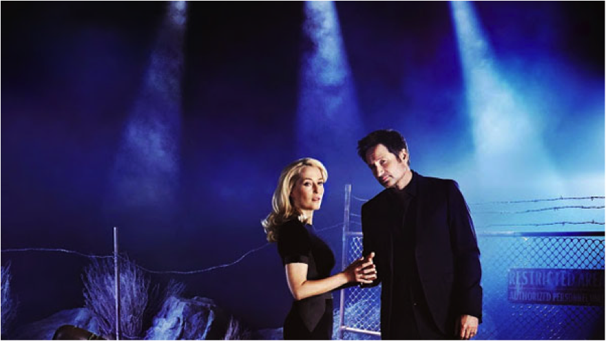 Mulder and Scully 2016