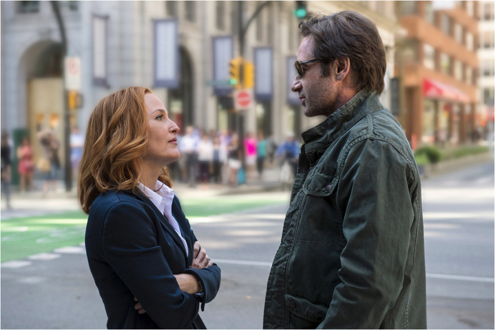 Mulder and Scully X-Files