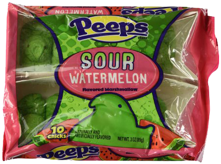 Sour Watermelon Peeps