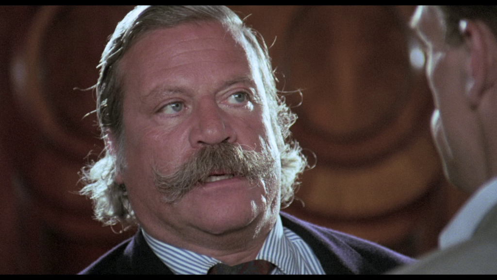 Oliver Reed handlebar mustache