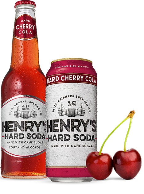 henry hard cherry cola
