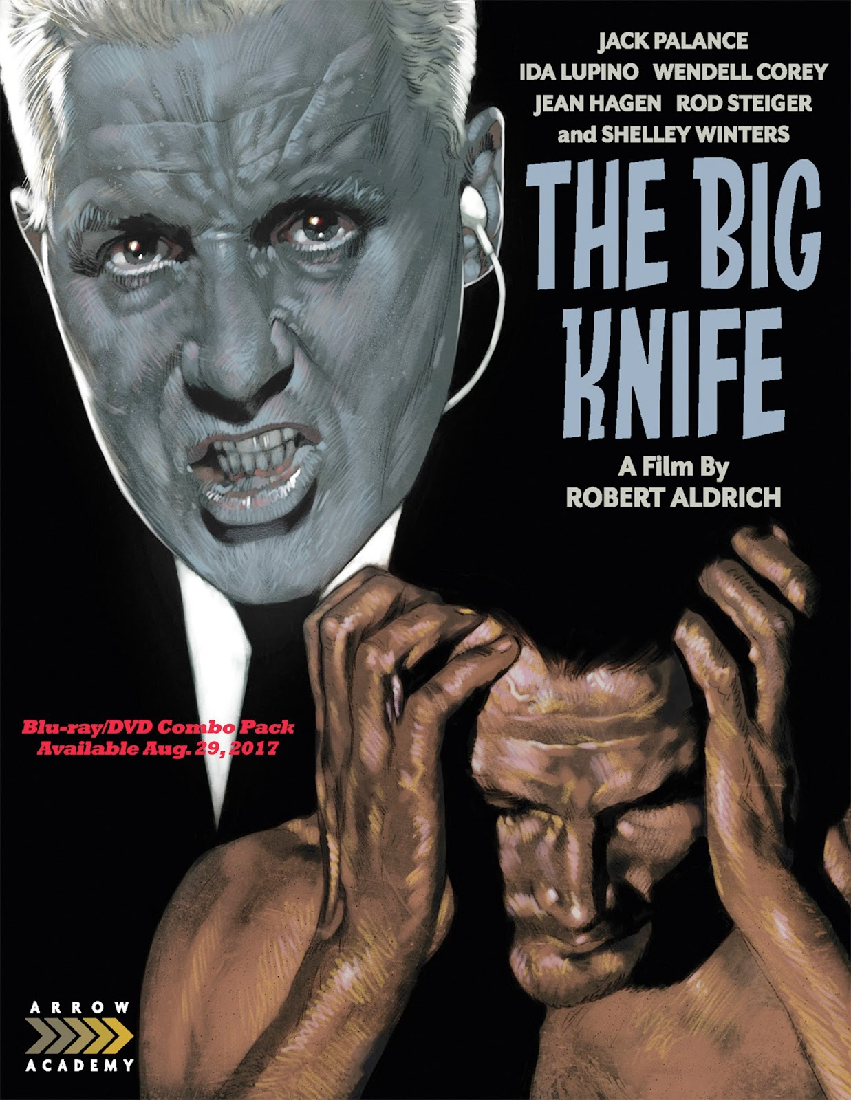 Jack Palance Filmes Ideal jack palance, arrow academy, and their big knife - the farsighted